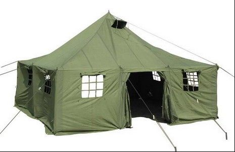 Professor Greensparrows' Tent