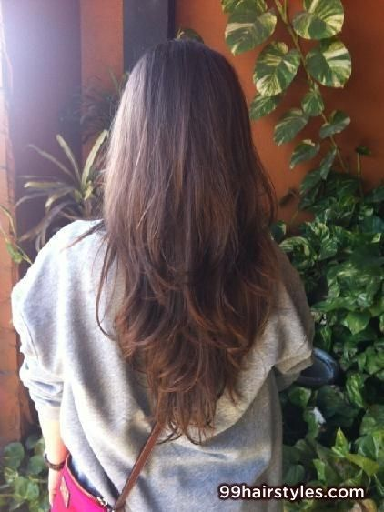 long brunette hair - 99 Hairstyles Ideas