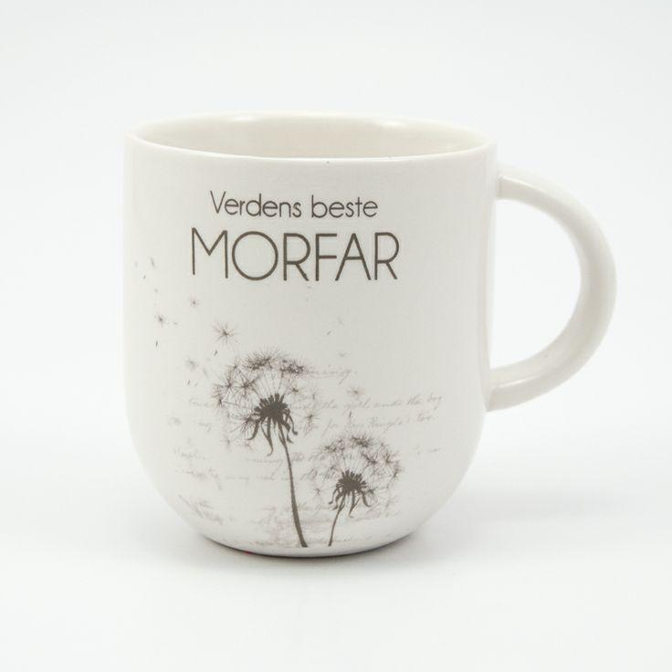 Kaffekopp til verdens beste morfar fra lea.no
