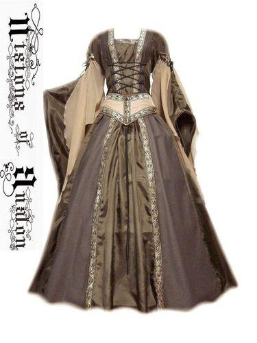 medieval dress costume medievaldress garb Renaissance larp celtic tudor fantasy   eBay