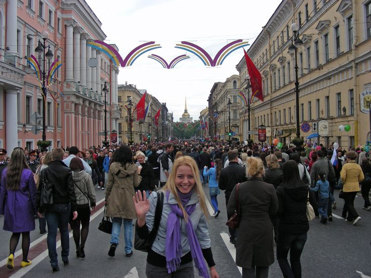 The celebrations being held in St Petersburg 2010 to celebrate their 1000 year birthday - Photo by Robert Craig, Group Escort