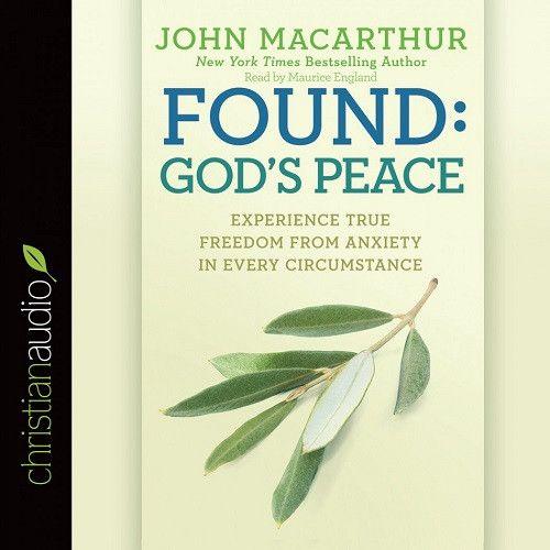 Found: God's Peace by John MacArthur CD