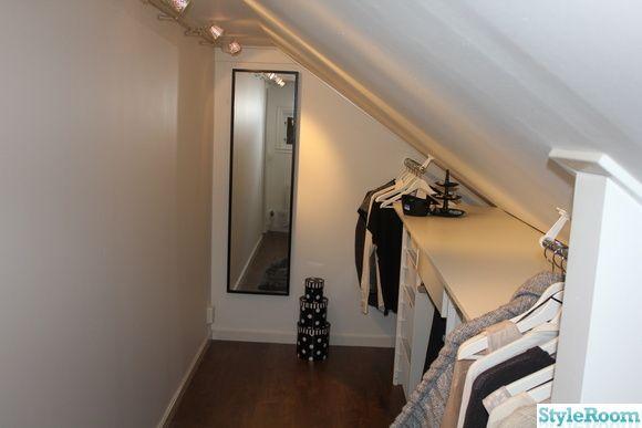Ser nästan precis ut likadant i min kommande lägenhet snedtaksmässigt