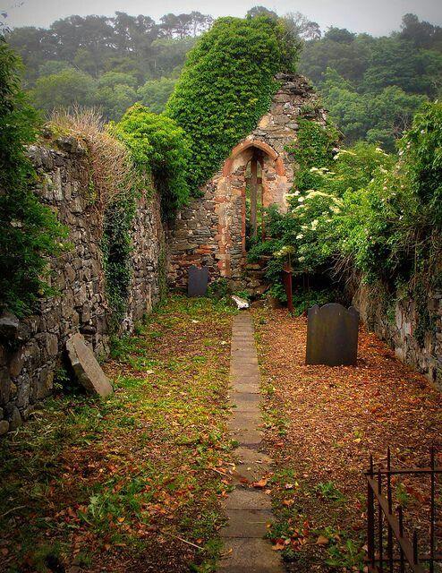 Ancient Church in Derry Ireland