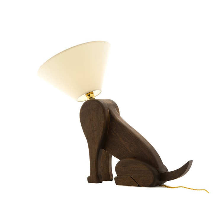 Sitting Dog Lamp Available exclusively from Pedlars