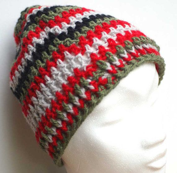 beanie cap woolen hat for women or men handmade free shipping