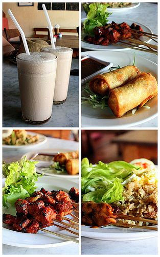 The delicious bali foods.