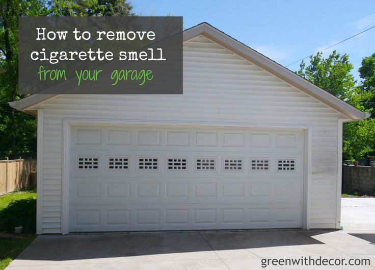 remove cigarette smell from a garage garage decor and how to remove. Black Bedroom Furniture Sets. Home Design Ideas