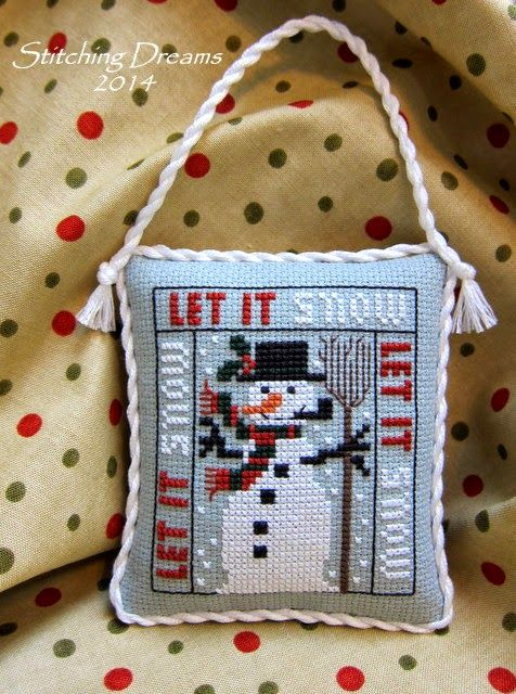 Stitching Dreams: Gifts and a Giveaway