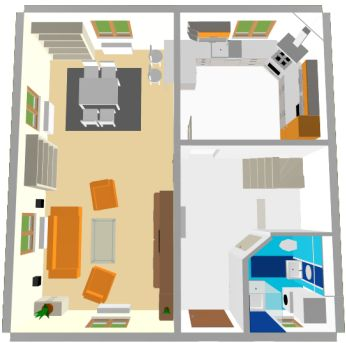 Roomarranger Design Your Room An Apartment Consisting