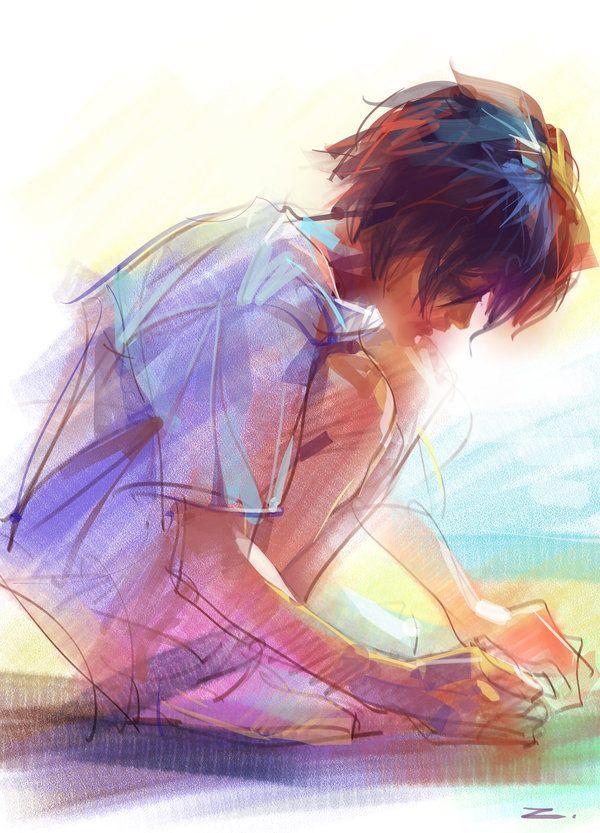#ART #illustrations #sketches - Sunny Day by ~zhuzhu on deviantART