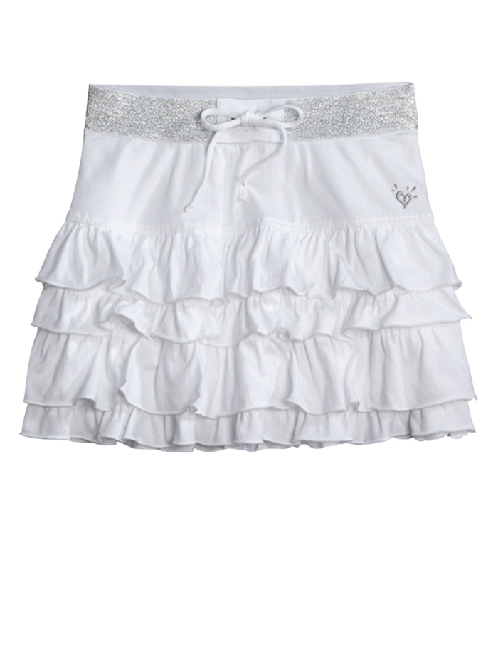 Girls Clothing | Skirts u0026 Skorts | Tiered Knit Skirt | Shop Justice | Justice clothing ...
