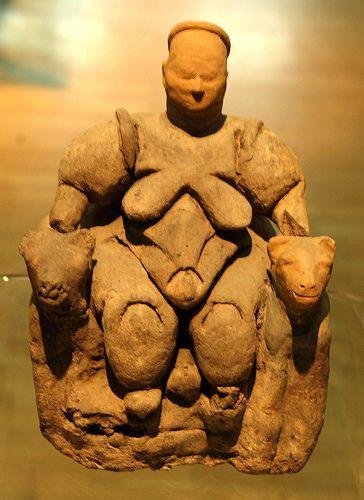 Goddess of Fertility, Museum of Anatolian Civilisations, Ankara, Turkey