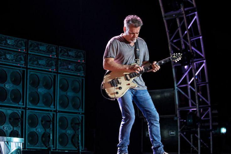 Eddie Van Halen Photo © Todd Morgan