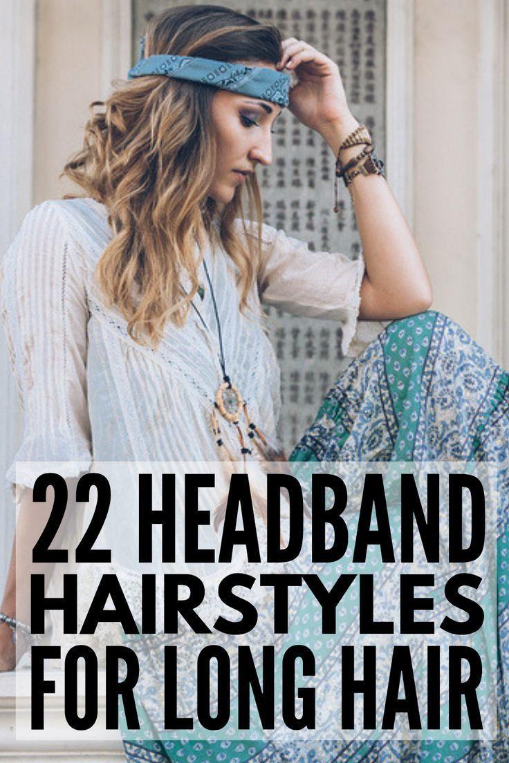 Second Day Hair: 58 Headband Hairstyles We Love #headbandhairstyles 22 Headband …