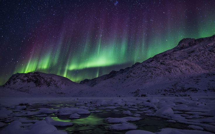 With minimal light pollution and near-perfect visibility in some places, Greenland provides exceptional odds for viewing milky-green lights. A three- or four-night stay during the aurora season (September to the beginning of April) practically guarantees a sighting. Settle into the Hotel Arctic's igloos on the edge of the Ilulissat Icefjord; double rooms are outfitted with electric heating, TVs, and a small bathroom, with skylights and expansive front windows so that you can soak up the…