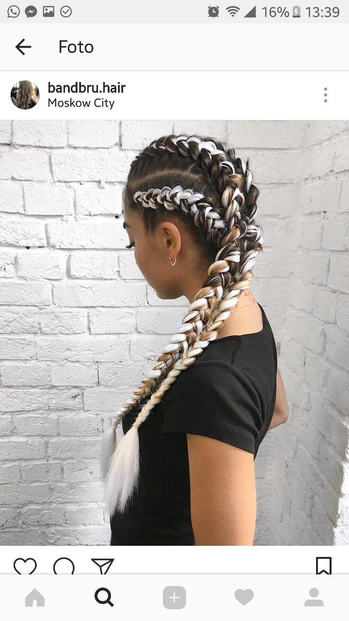 18 best AFRICAN BRAIDS images on Pinterest | Ideas de peinado, Box ...