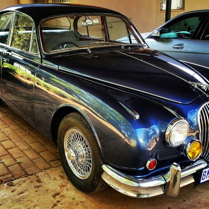 Just finished this old #jaguar MK2 3.8 Love the #classiccars #galaxycustoms #spraypaint #restoration