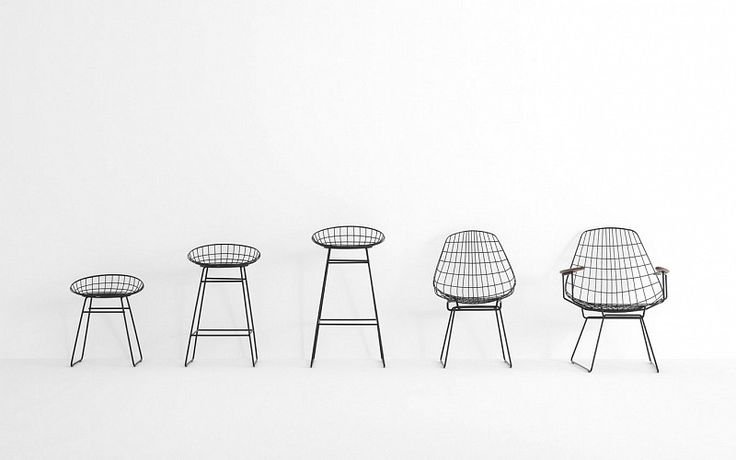 Pastoe - Pastoe Chairs: Wire Collection - Wire Chair SM05 - . Design: Cees Braakman - 1958