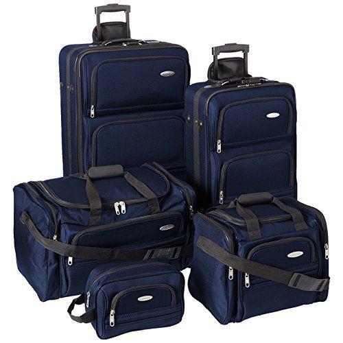 Samsonite Luggage Set - Five Piece Nested Set (One size, Navy) Samsonite http://www.amazon.com/dp/B00M2A97M8/ref=cm_sw_r_pi_dp_T.Pexb1AJR67P