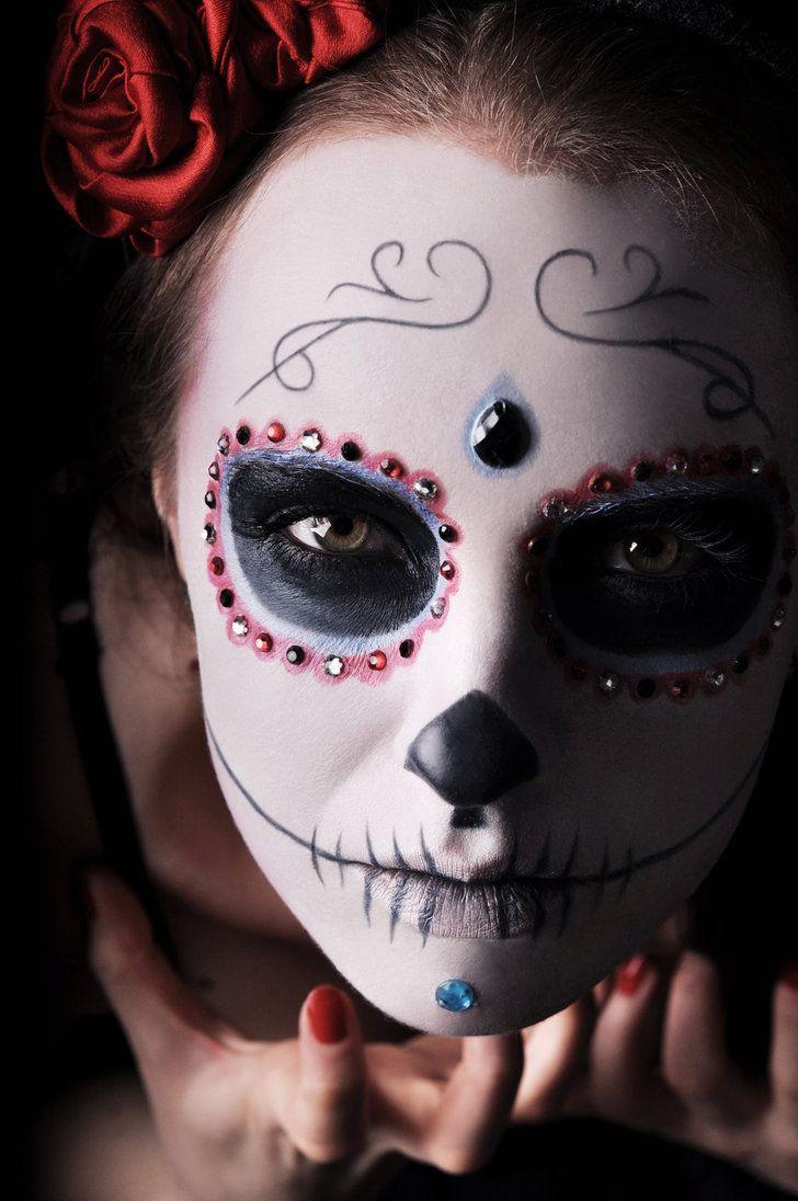 377 best Day of the Dead images on Pinterest | Sugar skulls, Sugar ...