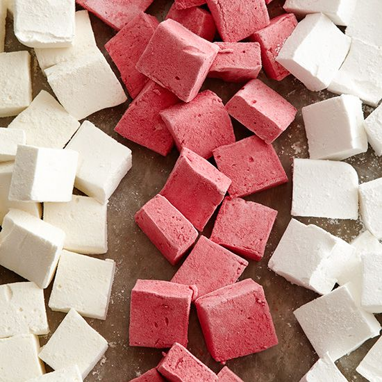 The Mission:  How to Make Marshmallows Making ethereally light, fluffy marshmallows is incredibly easy thanks to our handy step-by-step guide. You can also give them a twist by adding freeze-dried powdered fruit, like mango or raspberry.