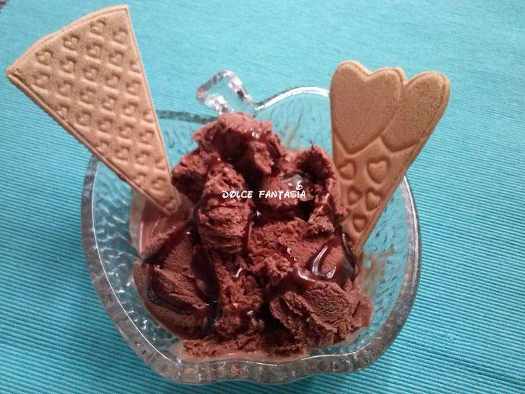 gelato al caramello senza gelatiera