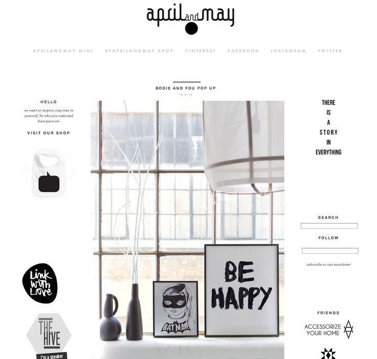 THE NETHERLANDS  Thank you to April & May for featuring our Debut print collection and Vipp pop-up store on their fab blog. See you in Copenhagen!