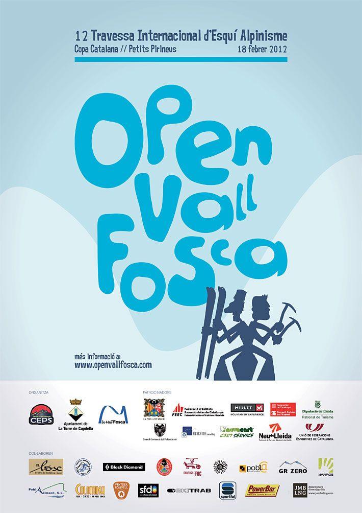 Cartell Open Vall Fosca 2012
