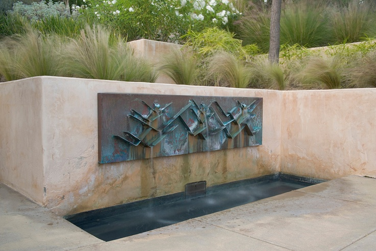 design: Jack Chandler; photo: Lee Anne WhiteAnne White, Water Features, Sculpture Fountain, Outdoor Sculpture, Gardens Water, Jack O'Connel, Lee Anne, Meditation Spaces, Jack Chandler