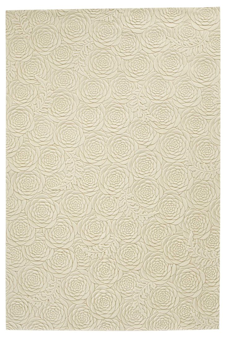 PEONY  Helen Amy Murray Contemporary hand-knotted designer rugs Wool