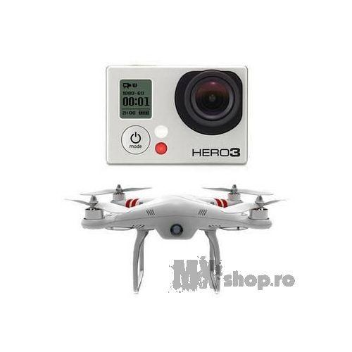 Drona DJI Phantom + GoPro Hero3 Black - MXShop - GoPro - TU esti EROUL