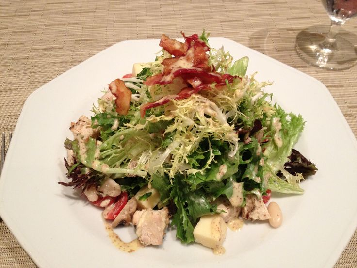 The Pierpont Salad From The Morgan Dining Room At The Morgan Library U0026  Museum In New