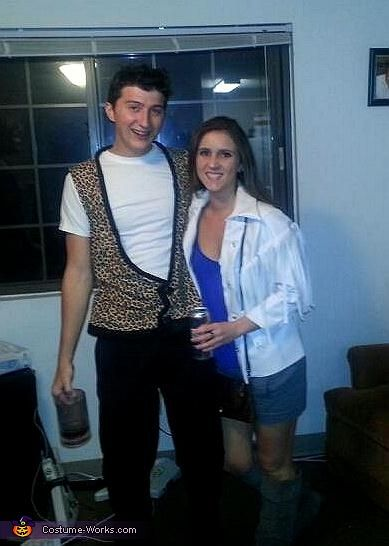 Ferris Bueller and Sloane - Halloween Costume Contest via      Ferris Bueller Outfit