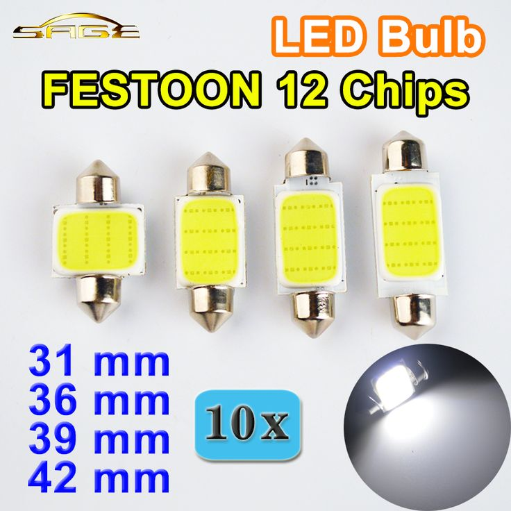 US $3.10 Flytop 10 STÜCKE 31mm 36mm 39mm 42mm C5W DC12V GIRLANDE COB 12 Chips Weiße Farbe Auto Led-lampen Auto Lampe Innen Dome licht #Flytop #STÜCKE #GIRLANDE #Chips #Weiße #Farbe #Auto #lampen #Lampe #Innen #Dome #licht