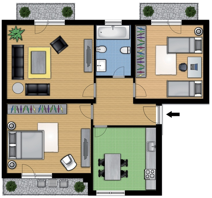 53 best sims blueprint images on pinterest small houses for Planimetria di cottage calabash