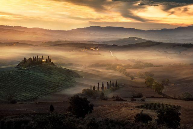 魅惑の谷(イタリア・シエナ)