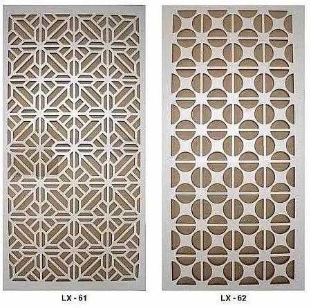 quadro painel mdf vazado p/ parede,divisória ambiente 1x35cm