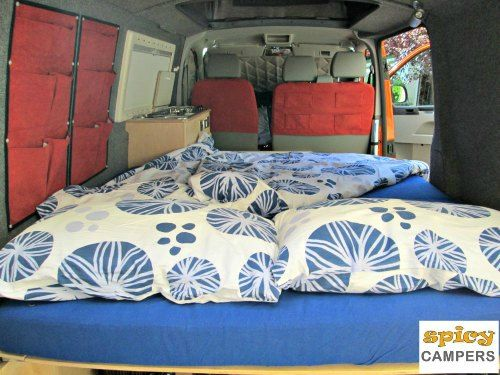 The Spicy Camper Van Conversion Is Made With A Budget Traveler In Mind Our Campervan Rental Fleet Compact Economical And Ready To Discover Europe