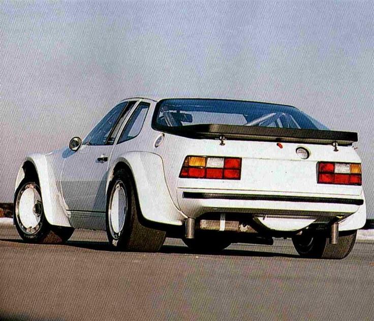 Porsche 924 Carrera GTR GTP - Fender fenders in my dreams.....
