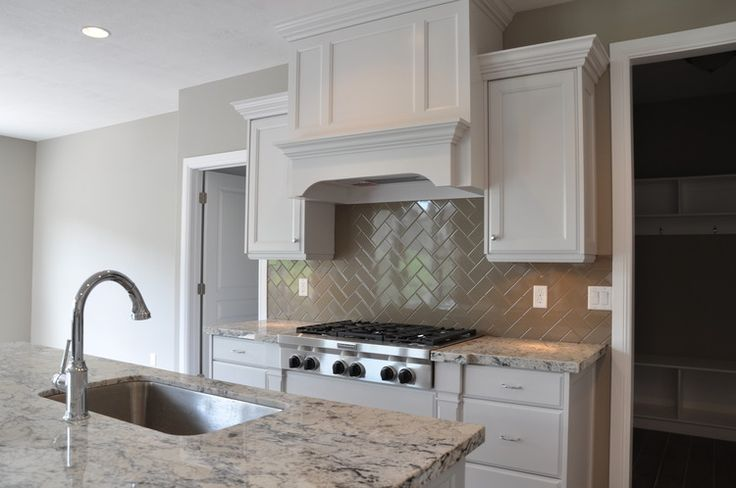 Best White And Gray Kitchen Features Crisp White Cabinets 640 x 480