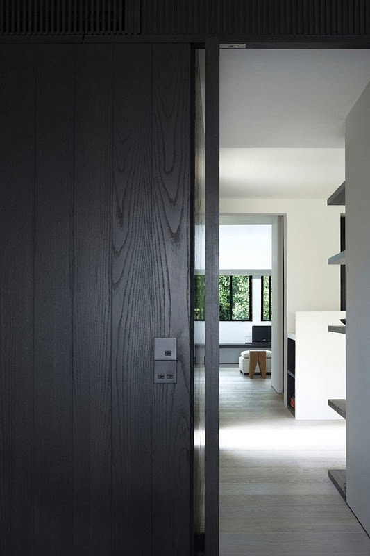 Black Wall Paneling : Images about wood paneling grey on pinterest