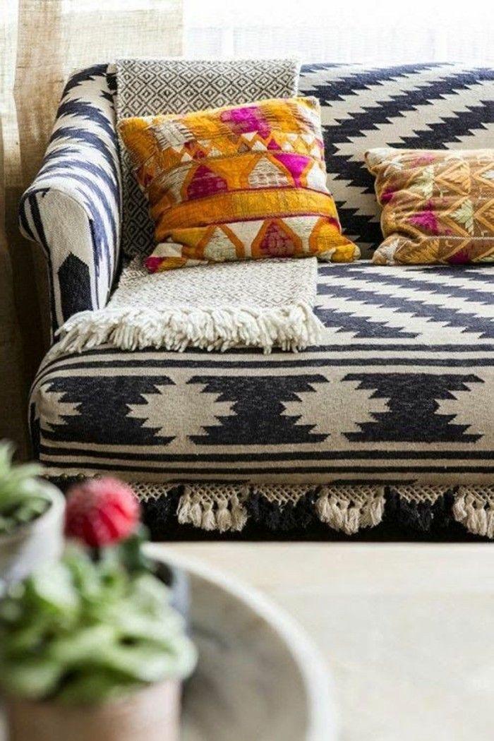 Living room living room sofabezug comfortable dekokissenpflanzen