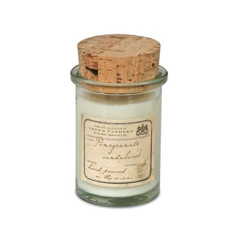 Pomegranate. Shop now at The Candle Library. Skeem candles are handmade in the US using a soy wax blend.