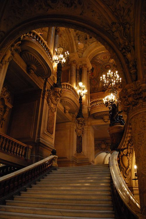 Grand Staircase / The Opera House, Paris
