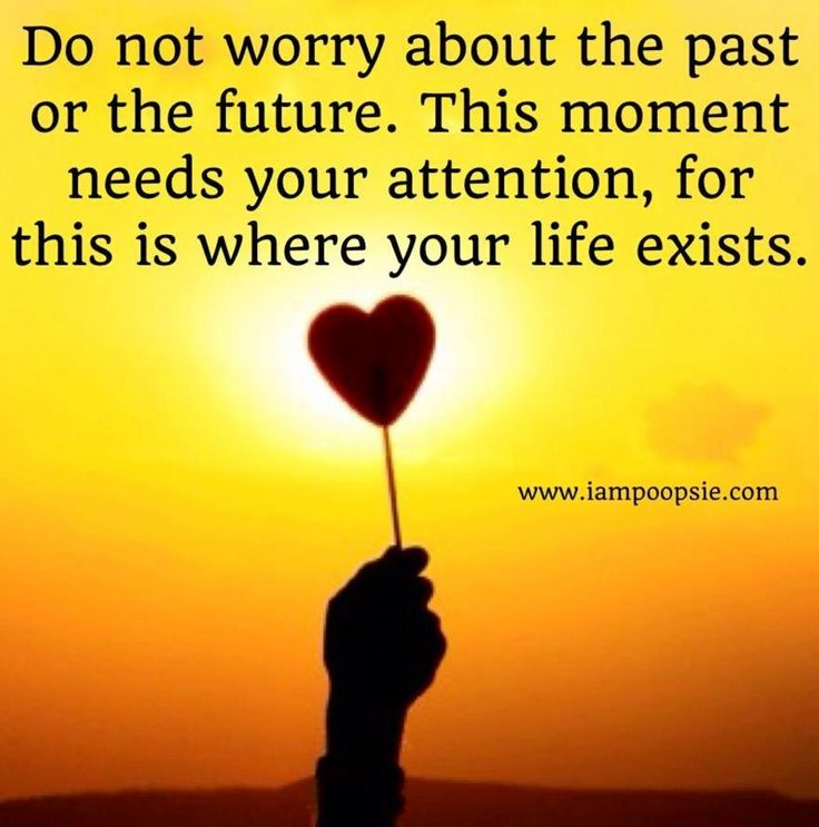 Living in the present moment is calming, grounding, fulfilling, empowering and healing. Try it right now.