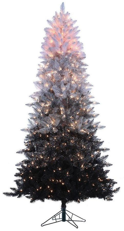 Sterling 7 1 2 Ft Pre Lit Ombre Spruce Artificial