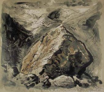 Stones and Bones V, Snowdonia - John Piper John Piper is one of the major…