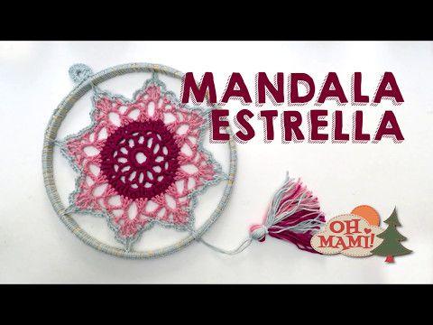 MANDALA ATRAPASUEÑOS EN CROCHET - Paso a Paso por mamaQuilla - YouTube