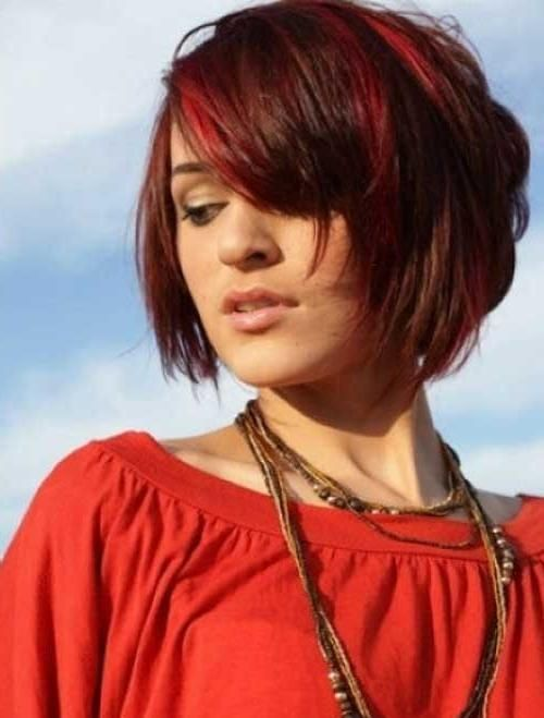 Photos Red Hair Short Haircuts 2018 For Women Hairstyles 19 Red